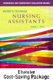 cover image - Mosby's Textbook for Nursing Assistants - Textbook and Workbook Package,9th Edition