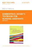 cover image - Mosby's Textbook for Nursing Assistants - Elsevier eBook on VitalSource (Retail Access Card),9th Edition
