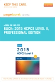 2015 HCPCS Level II Professional Edition - Elsevier eBook on Intel Education Study (Retail Access Card)