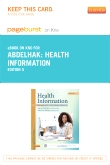 Health Information - Elsevier eBook on Intel Education Study (Retail Access Card), 5th Edition