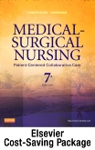 cover image - Medical-Surgical Nursing Single-Volume Text and Elsevier Adaptive Learning and Quizzing Package (Retail Access Card),7th Edition