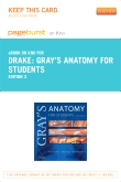 Gray's Anatomy for Students Elsevier eBook on Intel Education Study (Retail Access Card), 3rd Edition