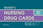 cover image - Mosby's Nursing Drug Cards,23rd Edition