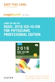 2016 ICD-10-CM Physician Professional Edition - Elsevier eBook on Intel Education Study (Retail Access Card)