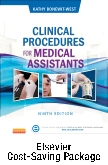 Clinical Procedures for Medical Assistants - Text, Study Guide, and Adaptive Learning Package, 9th Edition