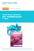 cover image - Elsevier Adaptive Learning for Pharmacology (Access Code),8th Edition