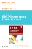 PART - Physician Coding Exam Review 2016 - Elsevier eBook on Intel Education Study (Retail Access Card)