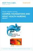 cover image - Elsevier Adaptive Learning for Foundations and Adult Health Nursing (Access Code),7th Edition