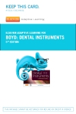 cover image - Elsevier Adaptive Learning for Dental Instruments (Access Code),5th Edition
