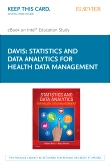 Statistics & Data Analytics for Health Data Management - Elsevier eBook on Intel Education Study (Retail Access Card)