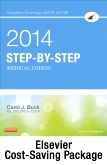 Step-by-Step Medical Coding 2014 Edition - Text, Workbook, 2015 ICD-9-CM for Hospitals Volumes 1, 2 & 3 Standard Edition, 2014 HCPCS Standard Edition and AMA CPT 2014 Standard Edition Package