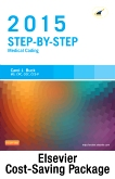 cover image - Step-by-Step Medical Coding 2015 Edition - Text, Workbook, 2015 ICD-9-CM for Hospitals, Volumes 1, 2, & 3 Professional Edition, 2015 HCPCS Standard Edition and AMA 2015 CPT Professional Edition Package