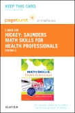 cover image - Saunders Math Skills for Health Professions - Elsevier eBook on VitalSource (Retail Access Card),2nd Edition