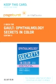 Ophthalmology Secrets in Color Elsevier eBook on VitalSource (Retail Access Card), 4th Edition