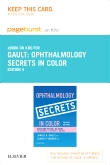 Ophthalmology Secrets in Color Elsevier eBook on Intel Education Study (Retail Access Card), 4th Edition