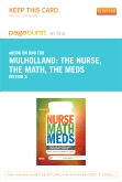 The Nurse, The Math, The Meds - Elsevier eBook on Intel Education Study (Retail Access Card), 3rd Edition