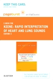 cover image - Rapid Interpretation of Heart and Lung Sounds - Elsevier eBook on VitalSource (Retail Access Card),3rd Edition