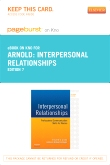 Interpersonal Relationships - Elsevier eBook on Intel Education Study (Retail Access Card), 7th Edition