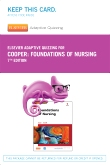 Elsevier Adaptive Quizzing for Foundations of Nursing (Retail Access Card), 7th Edition