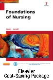 cover image - Foundations of Nursing and Elsevier Adaptive Quizzing Package,7th Edition