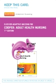 cover image - Elsevier Adaptive Quizzing for Adult Health Nursing (Retail Access Card),7th Edition