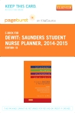 Saunders Student Nurse Planner, 2014-2015 - Elsevier eBook on VitalSource (Retail Access Card), 10th Edition
