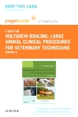 cover image - Large Animal Clinical Procedures for Veterinary Techncians - Elsevier eBook on VitalSource (Retail Access Card),3rd Edition