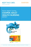 Elsevier Adaptive Learning for Adult Health Nursing (Retail Access Card), 7th Edition