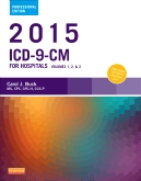 cover image - 2015 ICD-9-CM for Hospitals, Volumes 1, 2 and 3 Professional Edition