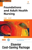 cover image - Foundations and Adult Health Nursing - Elsevier Adaptive Quizzing and Elsevier Adaptive Learning (Retail Access Cards),7th Edition