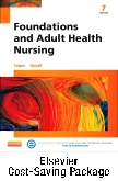 Foundations and Adult Health Nursing - Text and Elsevier Adaptive Learning and Elsevier Adaptive Quizzing (Retail Access Cards) Package, 7th Edition