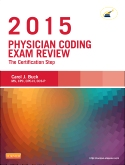 cover image - Evolve Exam Review for Physician Coding Exam Review 2015