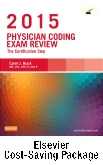 cover image - Physician Coding Exam Review 2015 - Elsevier eBook on VitalSource + Evolve Access (Retail Access Cards)
