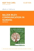 cover image - Communication in Nursing - Elsevier eBook on VitalSource (Retail Access Card),8th Edition