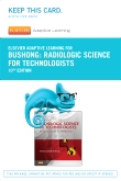 cover image - Elsevier Adaptive Learning for Radiologic Science for Technologists (Access Card),10th Edition