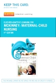cover image - Elsevier Adaptive Learning for Maternal-Child Nursing (Access Card),4th Edition