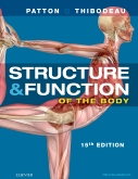 Structure & Function of the Body - Hardcover, 15th Edition