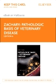 cover image - Pathologic Basis of Veterinary Disease - Elsevier eBook on VitalSource (Retail Access Card),6th Edition