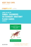 Veterinary Anatomy Flash Cards -- Elsevier eBook on Intel Education Study (Retail Access Card), 2nd Edition