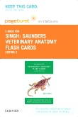 Veterinary Anatomy Flash Cards -- Elsevier eBook on VitalSource (Retail Access Card), 2nd Edition