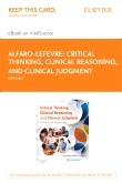 cover image - Critical Thinking, Clinical Reasoning and Clinical Judgment - Elsevier eBook on VitalSource (Retail Access Card),6th Edition