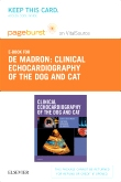 cover image - Clinical Echocardiography of the Dog and Cat - Elsevier eBook on VitalSource (Retail Access Card)