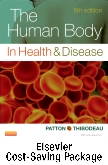 The Human Body in Health and Disease - Text and Elsevier Adaptive Quizzing Package, 6th Edition
