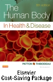 cover image - The Human Body in Health and Disease - Text and Elsevier Adaptive Learning and Elsevier Adaptive Quizzing Package,6th Edition