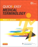 cover image - Medical Terminology Online with Elsevier Adaptive Learning for Quick & Easy Medical Terminology,8th Edition