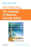 Medical Terminology Online with Elsevier Adaptive Learning for The Language of Medicine, 11th Edition