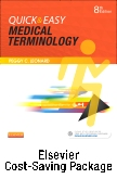 cover image - Quick & Easy Medical Terminology - Text and Elsevier Adaptive Learning Package,8th Edition