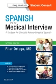 cover image - Spanish and the Medical Interview,2nd Edition