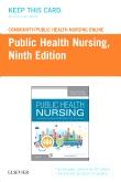 Community/Public Health Nursing Online for Stanhope and Lancaster, Public Health Nursing (Access Card), 9th Edition
