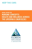 cover image - Nursing Concepts: Health and Wellness Across the Lifespan II Retail Card (NUR1023C RC)